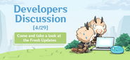 Developers Discussion 4-29