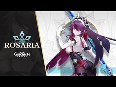 "New Character Demo - ""Rosaria- No Overtime, Ever"" - Genshin Impact"