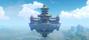 Hovering over Liyue Harbor sits the airborne palace — the Jade Chamber, which also acts as a personal spot for repose for Ningguang of the Liyue Qixing.