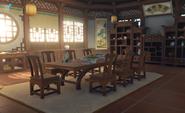 Liuli Pavilion Interior Daytime