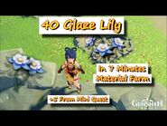 40 Glaze Lily in 7 Minutes +5 From Mini Quest