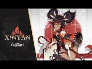 """New Character Demo - """"Xinyan- Aw Yeah, Rock On!"""" - Genshin Impact"""