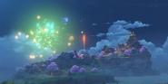 Inazuma City Fireworks Amakane Island