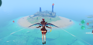 Nameles island windcluster