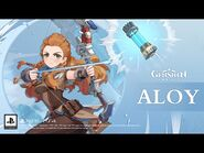 """Collected Miscellany - """"Aloy- Mystical Glow of Frost"""" - Genshin Impact"""