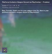 Predator Mail