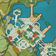 NPC Location Andrei Nighttime