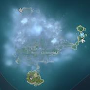Map Tsurumi Island Fog