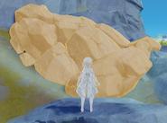 Large rock pile elemental sight