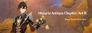 Historia Antiqua Chapter Act II Overview