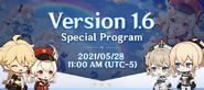 Version 1.6 Special Program