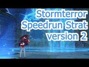 Stormterror Speedrun Strat version 2