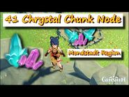 Genshin Impact - 41 Chrystal Chunk Node Mondstadt Region