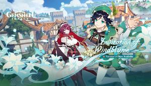 Splashscreen Invitation of Windblume