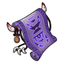 Forbidden Curse Scroll
