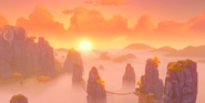 Viewpoint Mist-Veiled Stone Forest