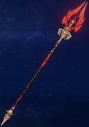 Weapon Staff of Homa 2nd 3D