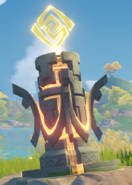 Elemental Monument Geo Activated