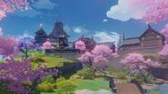 Reputation Inazuma Background