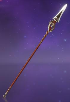 gold dragon polearm