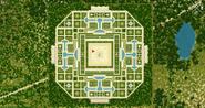 Сады БерутиэлиКарта