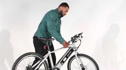 GenZe e-Bike Battery Removal