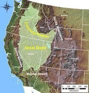 Great basin region