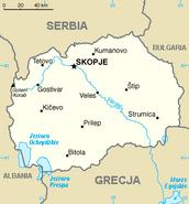Mapa Macedonii