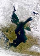 Morze Bałtyckie - zdjęcie satelitarne