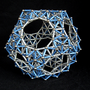 Dodecahedron 840 Rods