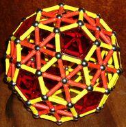Truncated icosahedron a10
