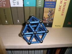 Κόλουρο Τετράεδρο - Truncated tetrahedron A.jpg
