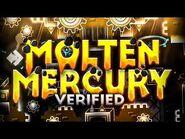 Geometry Dash - Molten Mercury by ItsHybrid & More Verified
