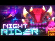 """NIGHT RIDER"" Final Preview + Verifier - Geometry Dash Extreme Demon"