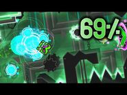 Cybernetic Crescent 69% - Progress -3 - Geometry Dash