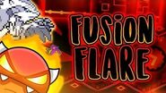 MY BEST LEVEL! Fusion Flare (Easy Demon, 3 Coins) - Skitten (me) Geometry Dash 2