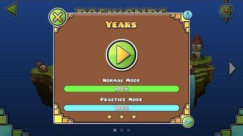 Geometry Dash World - Years