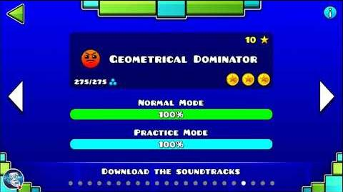 Geometry Dash Level 19 - Geometrical Dominator (All Coins) • Queis GD