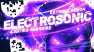 """-EXTREME DEMON- - """"ELECTROSONIC"""" 100% COMPLETE By CastriX & More! - Geometry Dash -2"""