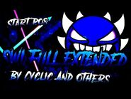 Geometry Dash - Sonic Wave Infinity Extended by Cyclic and others (unreleased) with start pos.