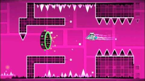 Level 8 - Time Machine By RobTop (Easy Level) (3 Coins)-0