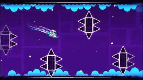 Level 10 - Xstep By RobTop (Normal Level) (3 Coins)