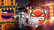 """Flap"" (Demon) by Serponge, Michigun, nasgubb, Viprin & more Geometry Dash 2"