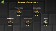 Demon Gauntlet levels