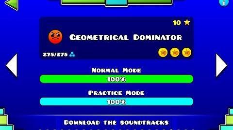 Geometry Dash - Geometrical Dominator