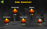 Fire Gauntlet levels