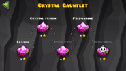 Crystal Gauntlet Levels