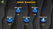 Magic Gauntlet Levels