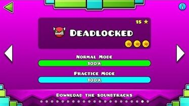 Geometry Dash - Level 20 Deadlocked (All Coins)-0