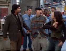 Girls Night Out - episode 2x20 - George confronts Junior and Marisol.png